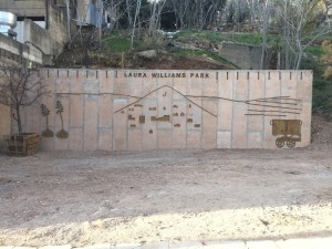 Decorative Concrete for Laura Williams Park