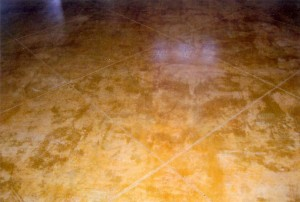 Decorative Stained Residential Concrete